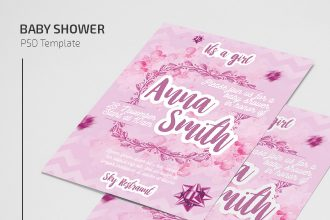 Free Baby Show Flyer Template in PSD