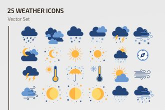 Free Weather Icons Template