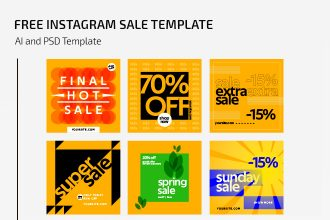 Free Instagram Sale Template
