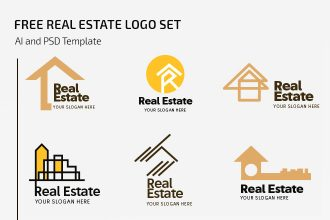 Free Real Estate Logo Set