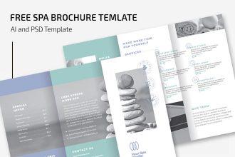 Free Spa Brochure Template