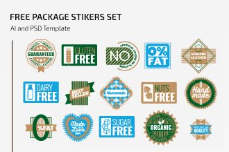 Free Package Stickers Set