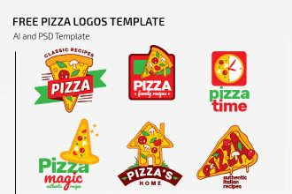 Free Pizza Logos Template