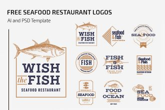 Free Seafood Restaurant Logos