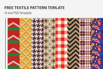 Free Textile Pattern Template