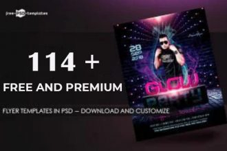 114+ Free Flyer Templates in PSD (Download and Customize) + Premium Version