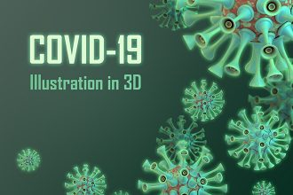 Free Coronavirus Illustrations in 3D
