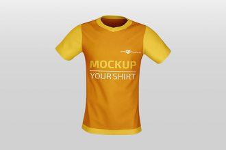 Free PSD Shirt Mockup Templates