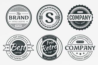 9 Free Circular Logo Template in AI + EPS