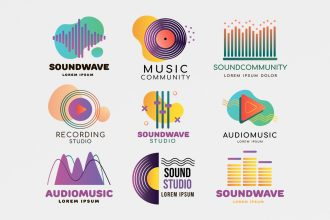 Free Music Logo Template in PSD, AI, EPS