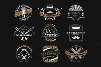 Free Barbershop Logo Template