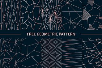 Free Geometric Patterns Vector Set in EPS + PSD