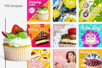 Free Cake Banners Template
