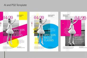 Free Kisd Ballet Flyer Template