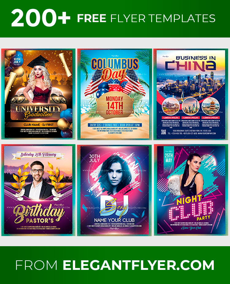 114 Free And Premium Flyer Templates In Psd Download And Customize Free Psd Templates