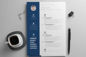 30+ Best Photoshop resume templates for Free
