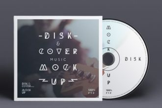 30+ Free Music CD Artwork Templates for Photoshop