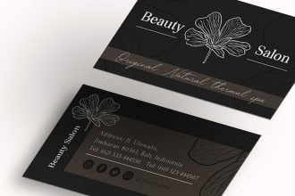 Free Business card Template in PSD