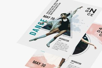 Free Dance Flyer Template in PSD + AI