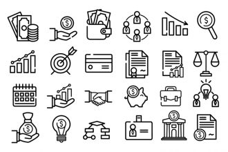 Free Business Icons Set in EPS + PSD