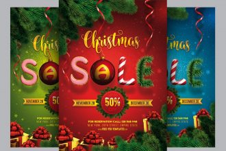 20+ Free Christmas Poster Templates