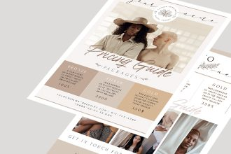 Free Photography Flyer Template in PSD + AI + EPS