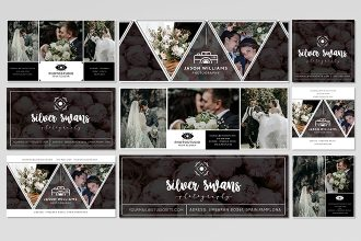 Free Wedding Facebook Cover Photo Template (PSD)
