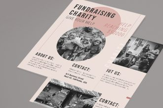 Free Charity Flyer Template in PSD + AI + EPS