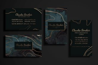 Free Business Card Templates in PSD