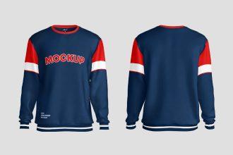 Free Sweatshirt Mockups in PSD