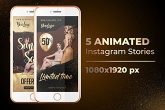 5 Animated Instagram Stories