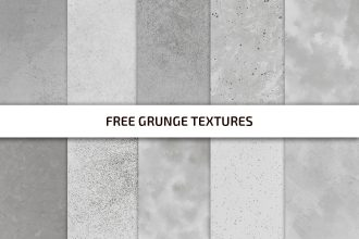Free Grunge Texture Template in PSD + PNG, JPG