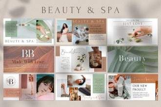 Free Beauty and Spa Facebook Event Cover Template in PSD