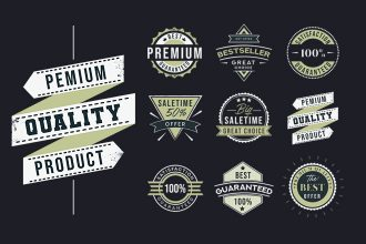 Free Logo Stamp Template in PSD + Vector (.ai+.eps)