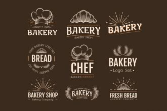 Free Bakery Logos Templates in EPS + PSD
