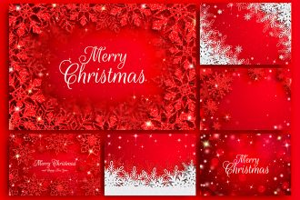 Free Christmas Background Templates in PSD