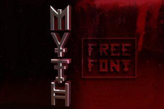 Free Myth Font