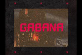Gabana – Free Font Template