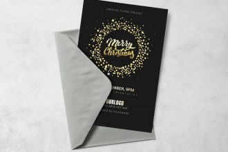 Free Christmas Flyer EPS Template