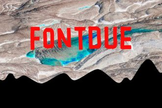 Free Fontdue Typeface