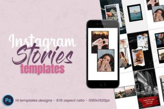 Free Instagram Stories Templates in PSD