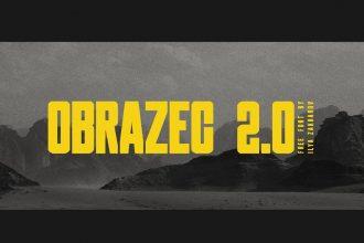 Obrazec 2.0 Free Font