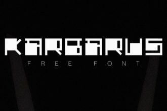 Free Karbarus Font