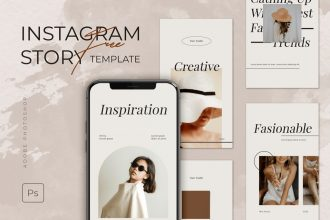 Free Creative Instagram Stories Templates