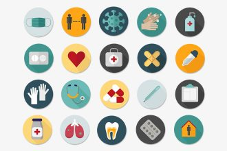 Free Medical Icons set Template in PSD + Vector (.ai+.eps)