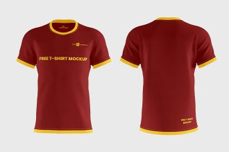 Free T-Shirt Mockups in PSD