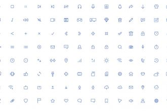 Free Light Icons AI Template