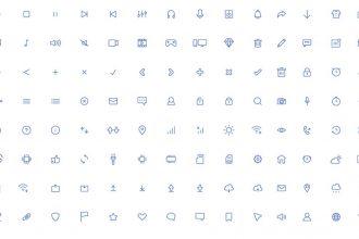 Free Light Icons AI Template