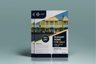 Free Real Estate Flyer Vector Template