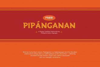 Free Pipánganan Typeface